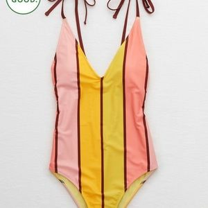 NWT Aerie V one piece swimsuit